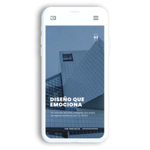 Diseño página web emprendedor estándar 6 meses
