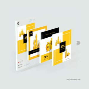 Diseño pack redes sociales emprendedor