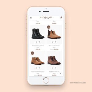 Diseño catálogo virtual de productos